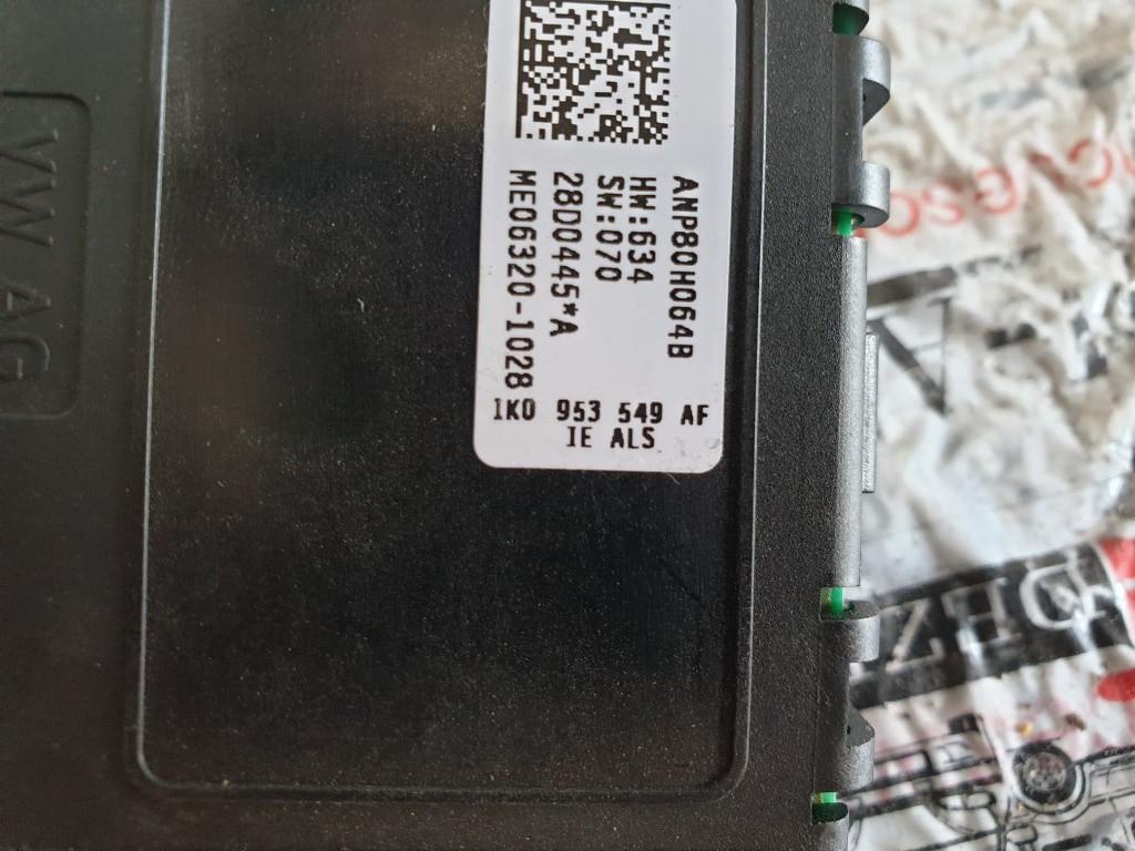 Calculator coloana volan VW Golf V cod piesa : 1K0953549AF