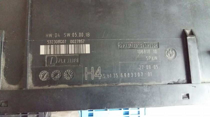 Calculator comfort bmw e87 e90 e 91 e92 e93 320d 330d 6983307-01