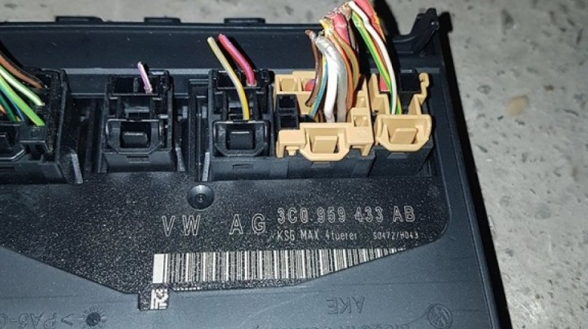 Calculator confort 3c0959433AB vw passat B6