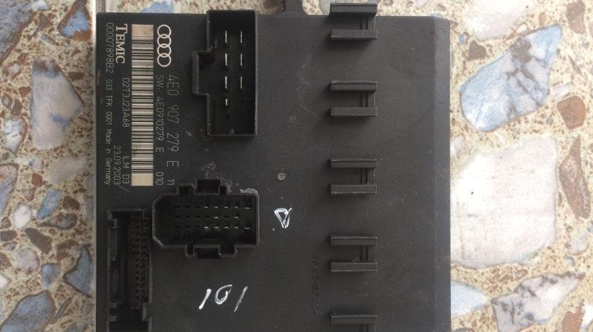 Calculator confort 4E0907279E Audi A8 D3/4E [2002 - 2005] Sedan 4.2 tiptronic quattro (335 hp) AUDI A8 (4E_) 10.2002 - 07.2010 A8 4.2 QUATTRO 4.2 - BFM