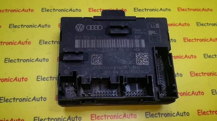 Calculator confort Audi A4, A5 8T0959792M