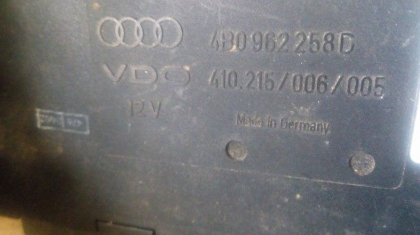 Calculator confort audi a6 4b cod 4b0962258d