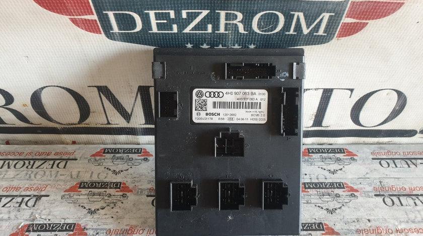 Calculator confort BCM Audi A6 C7 2.0 TDI 163 cai motor CGLD cod piesa : 4H0907063BA