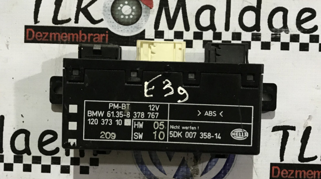 Calculator confort BMW E39 seria 5 12037310 61.35-8378767