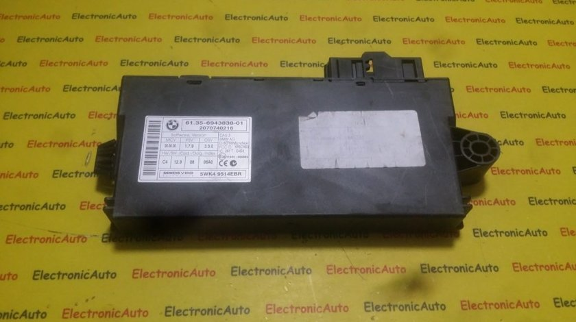 Calculator confort BMW E70 X5 6135694383801, 5WK49514EBR