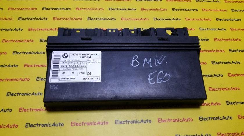 Calculator confort BMW Seria 5 E60 61356939400, 5WK49111