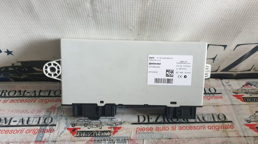 Calculator confort BMW Seria 5 F07 GT LCi cod piesa : 9226588