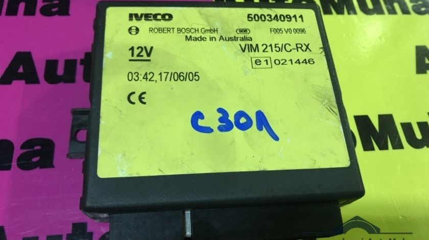 Calculator confort Iveco Daily (2000-2006) 500340911