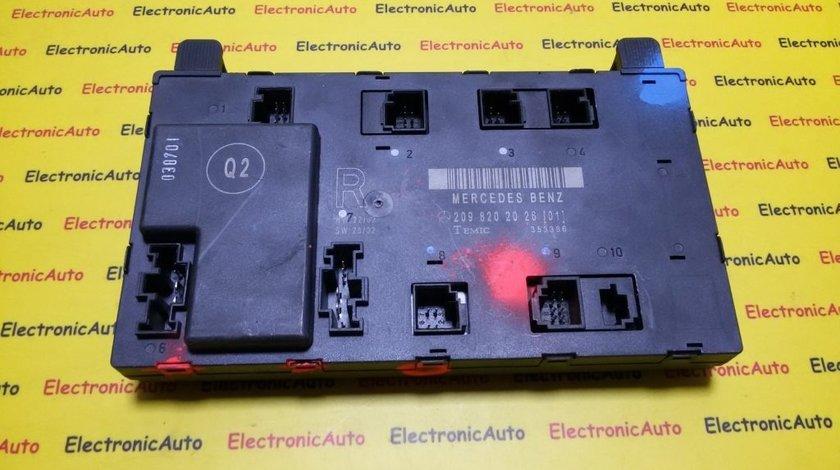 Calculator confort Mercedes CLK 2098202026, 353386