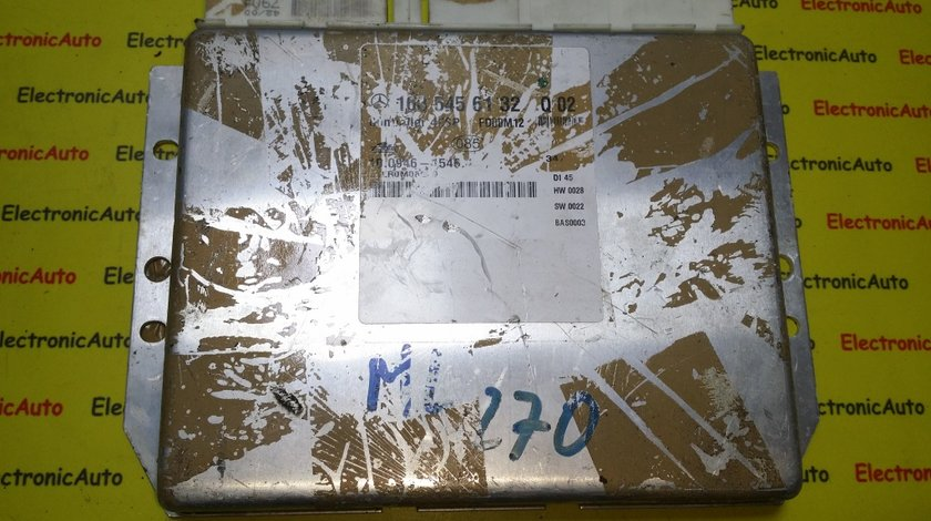 Calculator confort Mercedes ML 270 1635456132