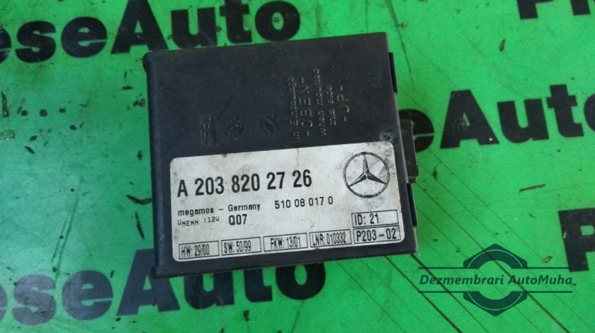 Calculator confort Mercedes S-Class (1998-2005) [W220] a2038202726