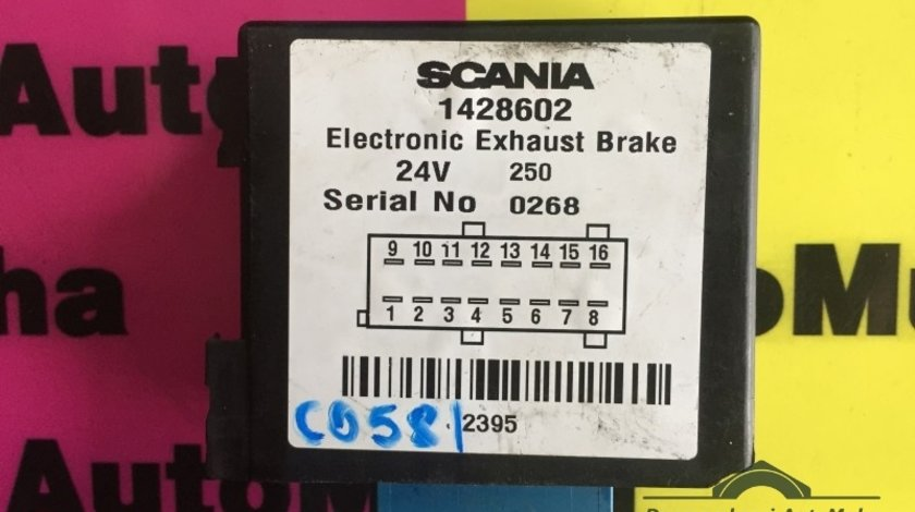 Calculator confort - modul electronic SCANIA P , G , R , T - Series 2003.01- 1428602