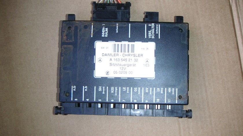 Calculator confort scaun Mercedes ML W163, ML270 CDI (1997-2004) cod A1635452132