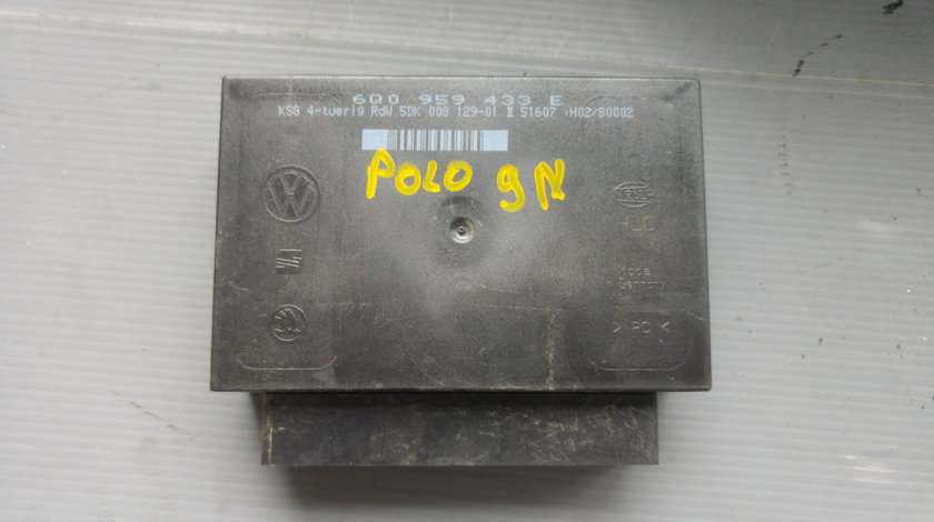 Calculator confort skoda fabia vw polo 9n 1.9 tdi 6q0959433e