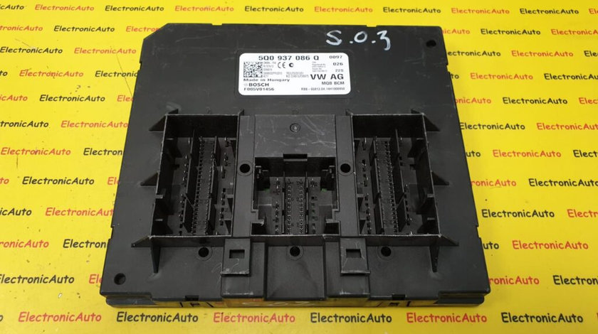 Calculator Confort Skoda Octavia 3, 5Q0937086Q, F005V01456 (8SQW2)