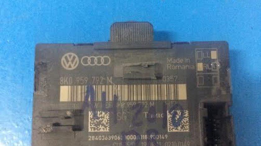 Calculator confort usa dreapta fata Audi A4 B8 8K2 an 2007 - 2015 cod 8K0959792M