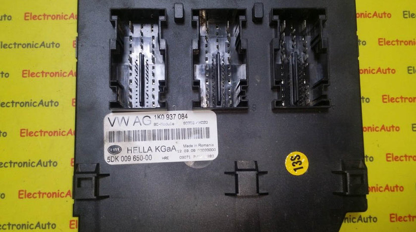 Calculator Confort VW Golf 6 , 1K0937084, 5DK009650-00, BCM
