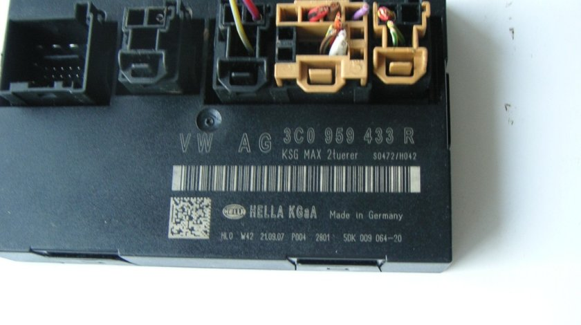 Calculator confort Vw Passat B6 B7 cod 3C0959433R