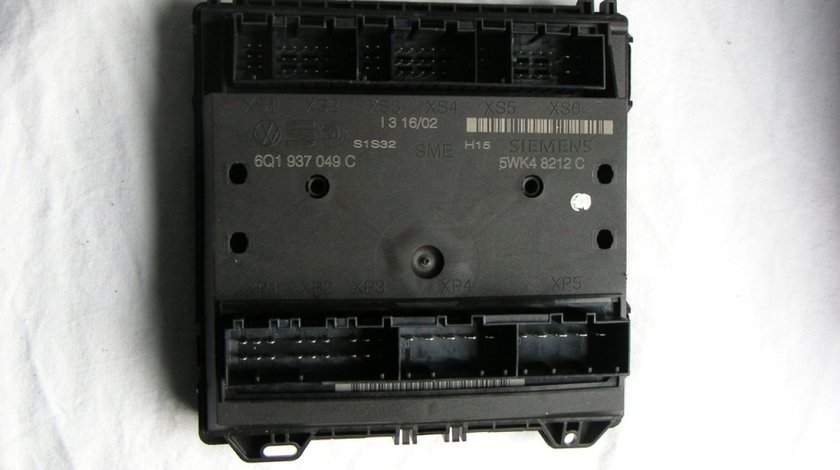 Calculator confort VW Polo 9N, Seat Ibiza 6L, Skoda Fabia cod 6Q0937049C