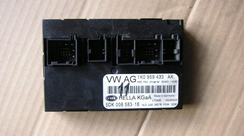 Calculator confort VW Seat Skoda cod 1K0959433AK
