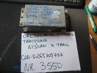 Calculator control tractiune nissan x trail