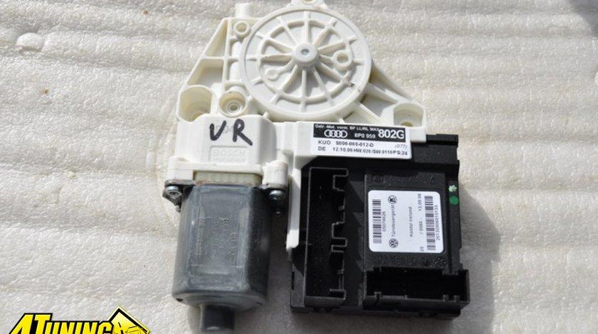Calculator cu motor geam usa dreapta fata Audi A3 8P 2003 2007