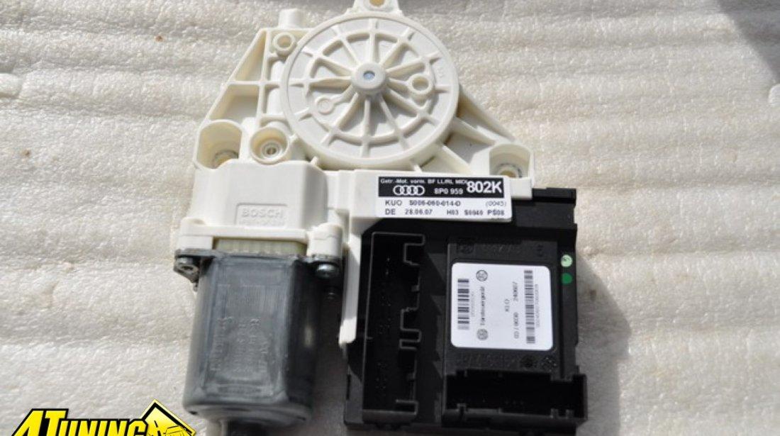Calculator cu motor geam usa dreapta fata Audi A3 8P 2008 2010