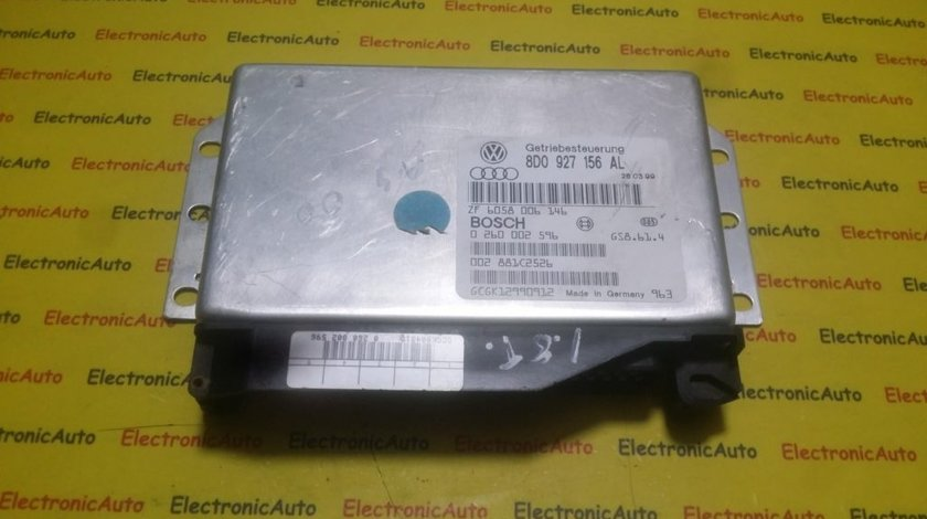 Calculator Cutie Automata Audi A4 8D0927156AL, 0260002596
