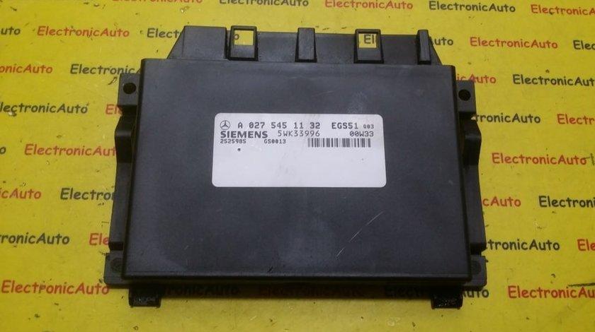 Calculator cutie automata Mercedes A0275451132
