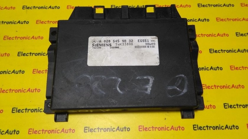 Calculator cutie automata Mercedes Benz A0205459832