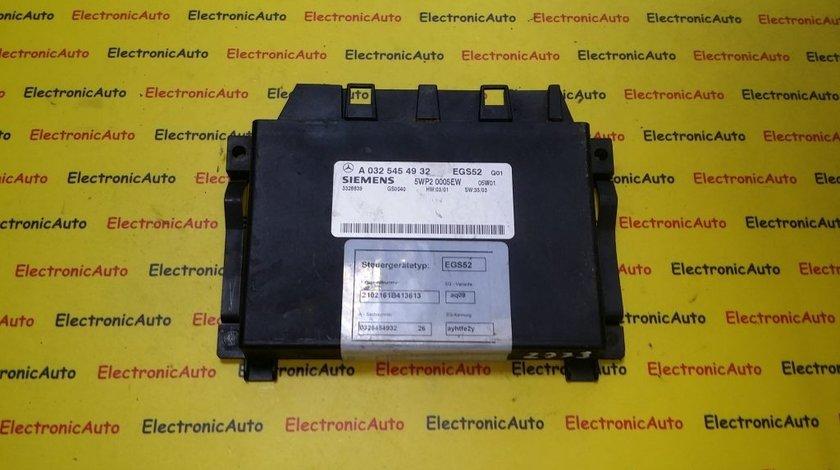 Calculator cutie automata Mercedes E-class A0325454932