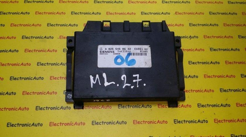 Calculator cutie automata Mercedes ML A0255450632