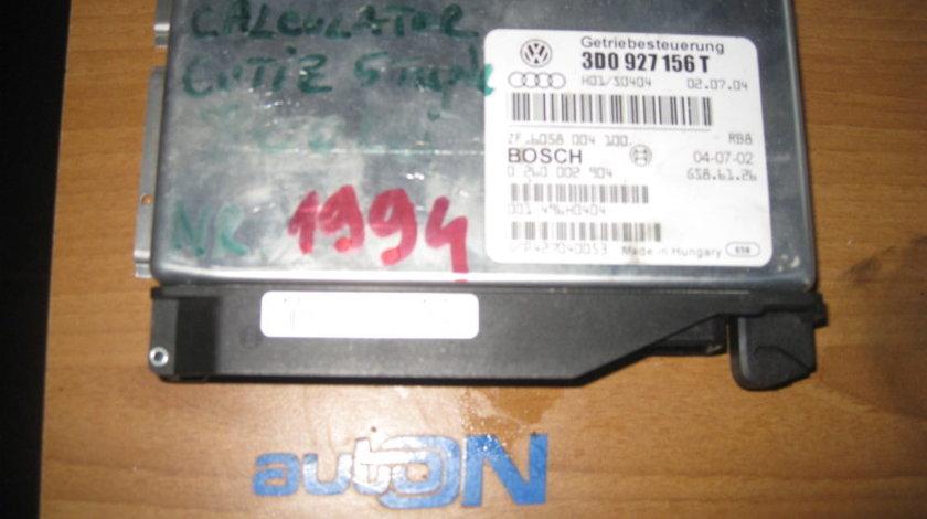 Calculator cutie automata VW PHAETON