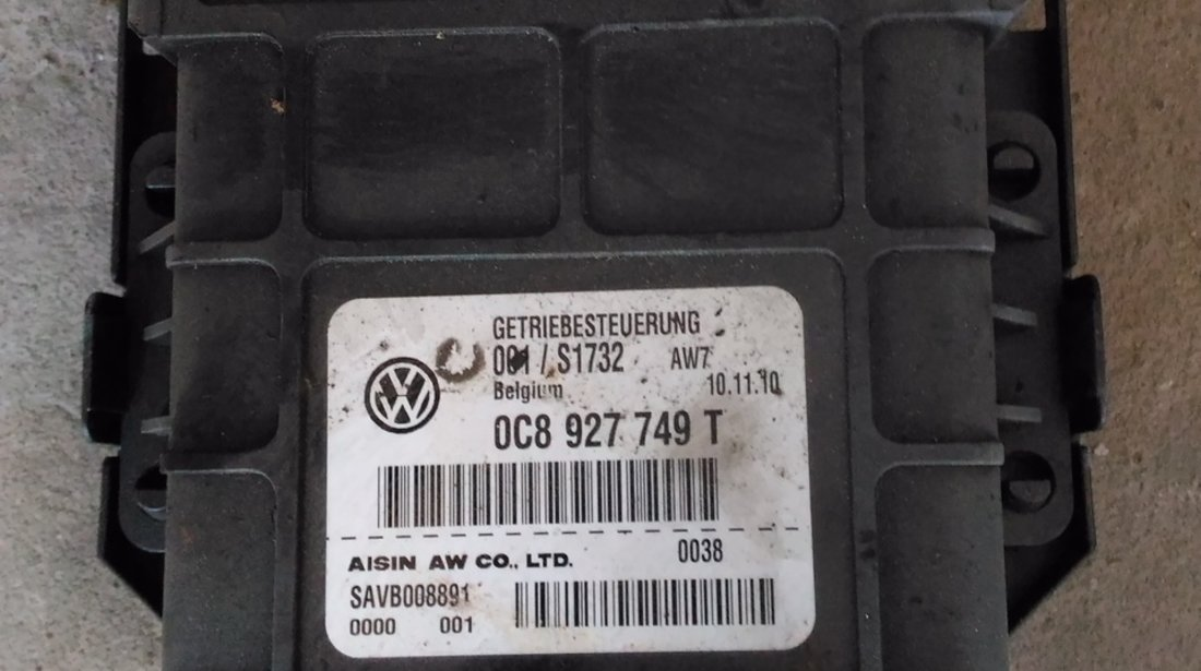 Calculator Cutie de viteza automata VW Touareg, Porsche Cayenne 2010-2015