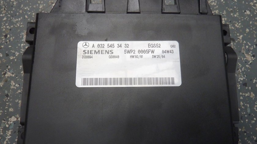 Calculator cutie de viteze MERCEDES A0325453432