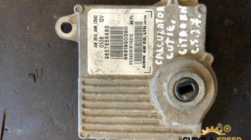 Calculator cutie viteze automata Citroen C5 (2004->) [RC_] 2.7 hdi 9657656480