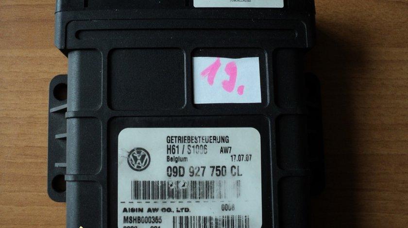 CALCULATOR CUTIE VITEZE AUTOMATA VW TOUAREG 6 TREPTE 25R5 COD 09D927750CL