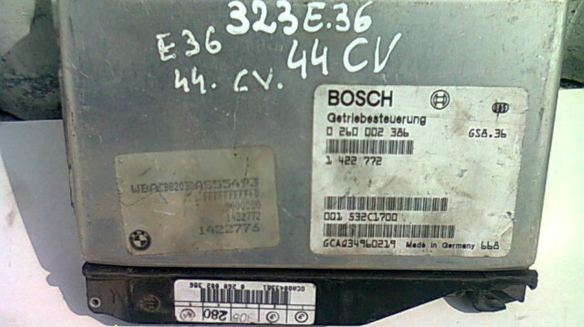 Calculator cutie viteze BMW 323i E36