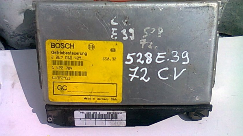 Calculator cutie viteze BMW E39;  1422784