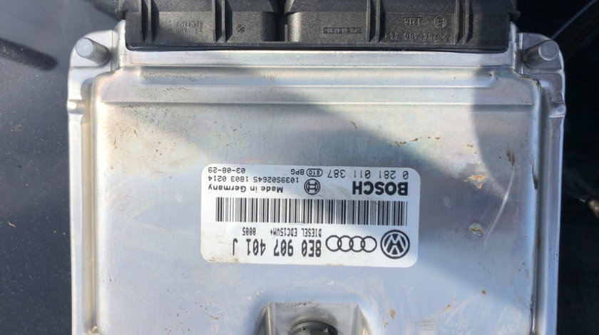 Calculator ecu Audi A6 (1997-2004) [4B, C5] 8E0 907 401 J 2004