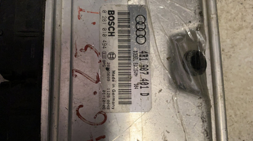 Calculator ECU Audi A6 2.5 TDI cod 4b1907401d