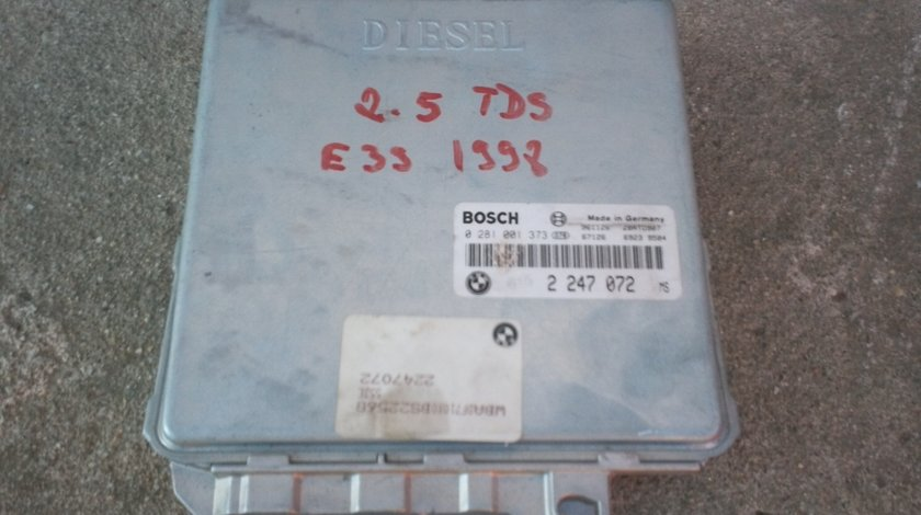 Calculator ECU BMW 2.5 TDS cod 0 281 001 373 in stare foarte buna.