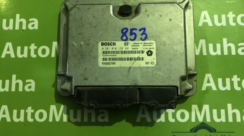 Calculator ecu Chrysler Voyager 3 (1995-2001) [GS] 0281010139