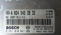 Calculator ECU Mercedes E Class W 210 cod A0245452...