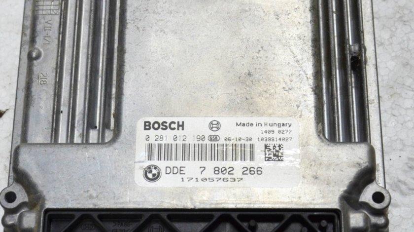 Calculator ECU motor BMW E60 E61 525D 530D M57N 130KW 160KW EURO 4