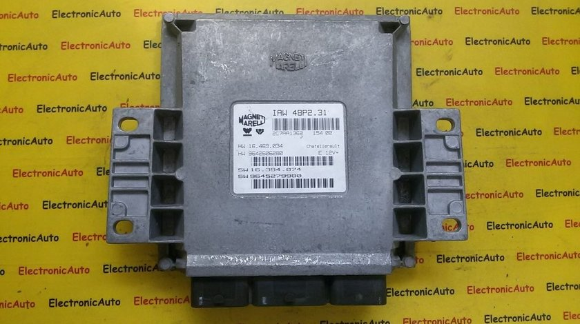 Calculator ECU motor Citroen C5 2.0 9642606280, 9645279980
