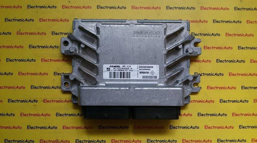 Calculator ECU motor Dacia Logan 1.6 S110140022 A