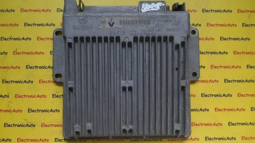 Calculator ECU motor Renault Clio 1.2 7700107708
