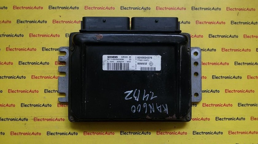 Calculator ECU motor Renault Kangoo 1.4 S110030306D