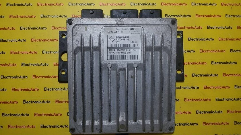 Calculator ECU motor Renault Megane 1.5DCI 8200468189, 8200399038